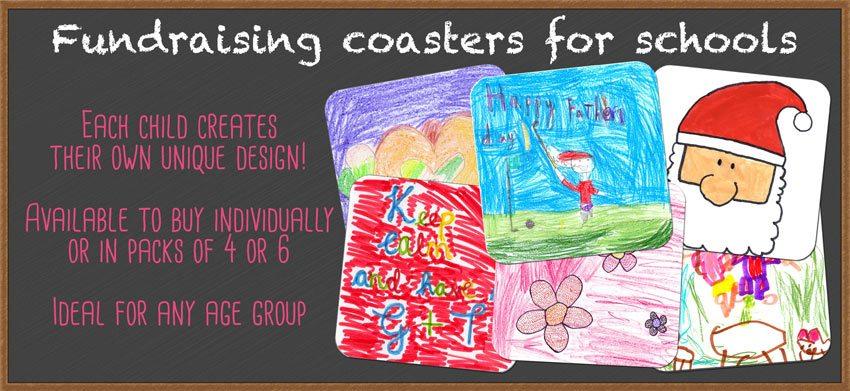 Fundraising Coasters