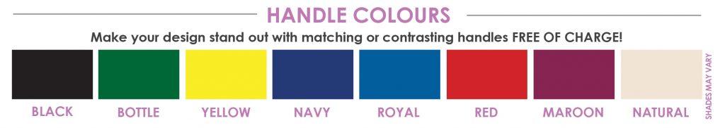 bag handle colours