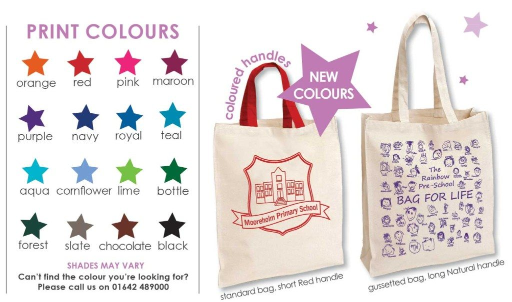bag print colours