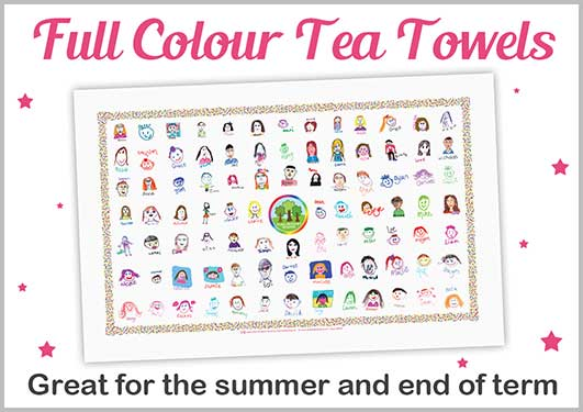 Full Colour Tea Towels