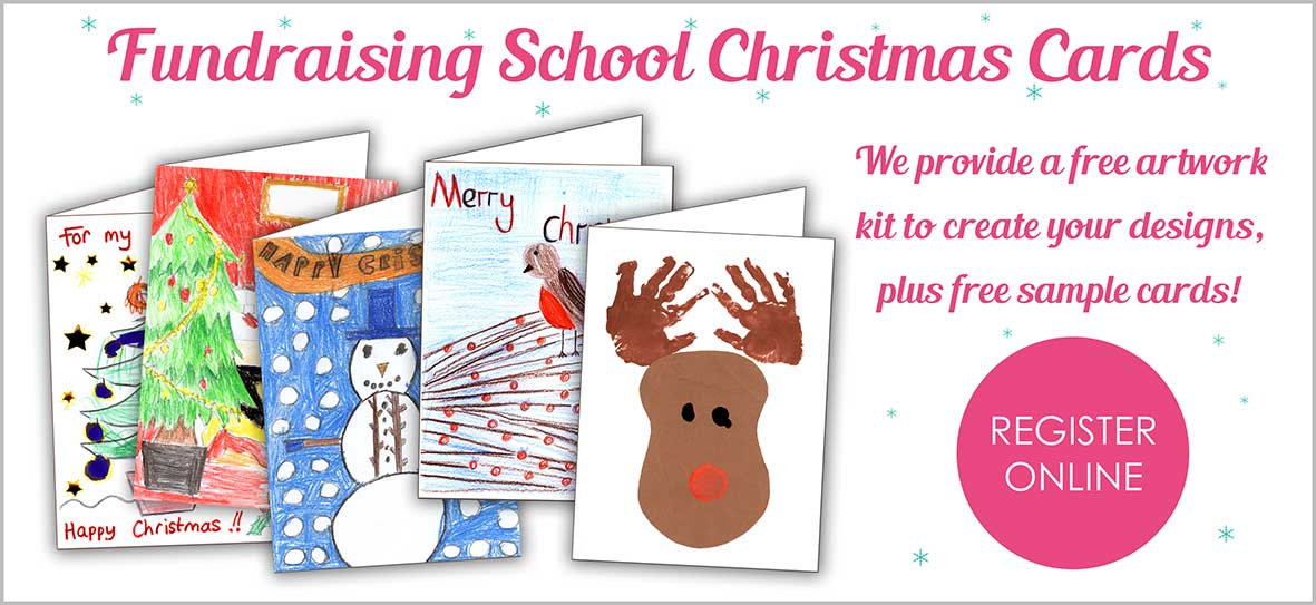Fundraising School Christmas Cards