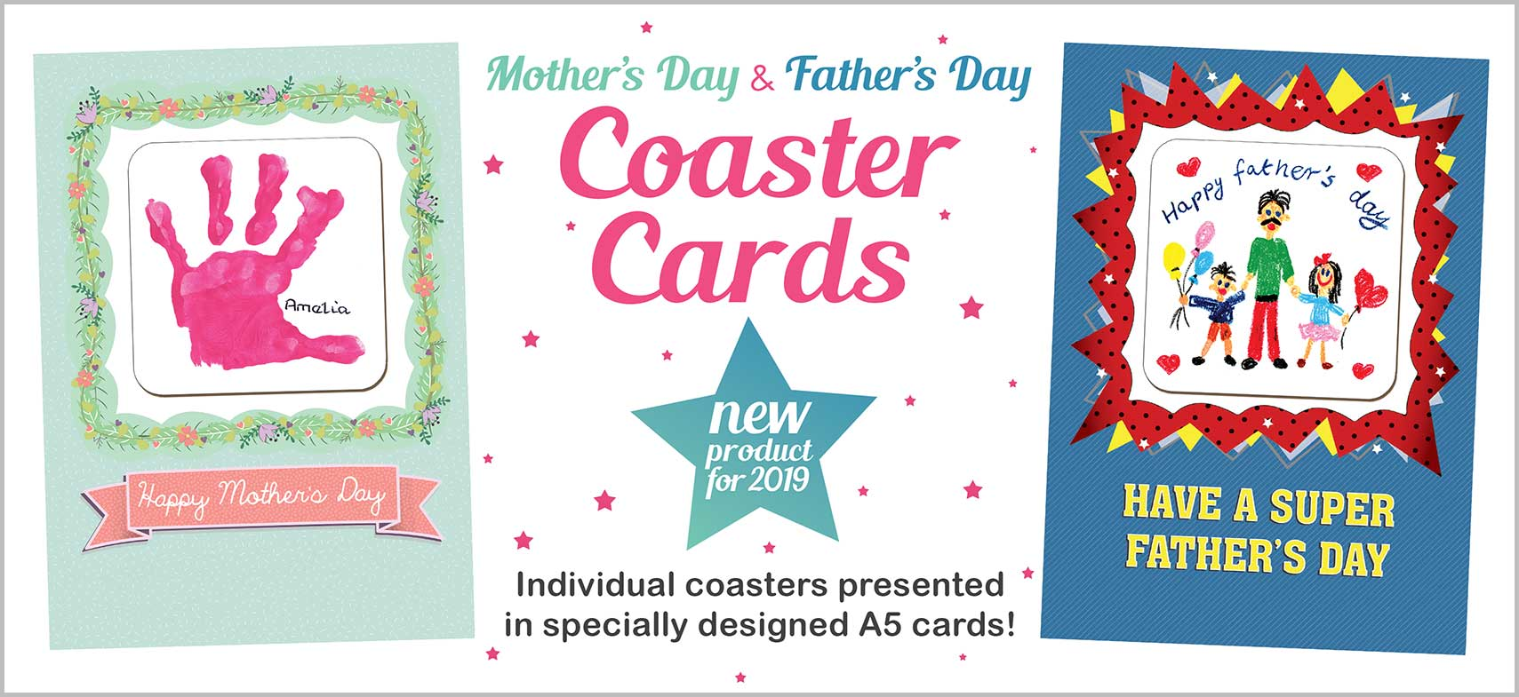 Mother's Day Coaster Cards