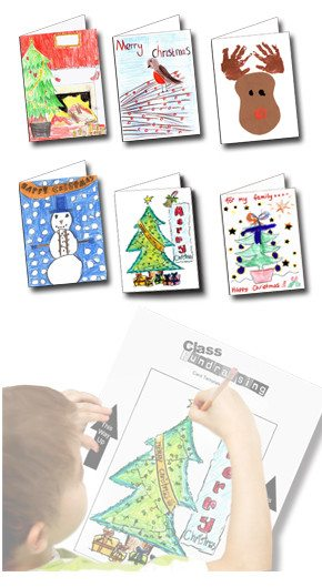 school christmas cards