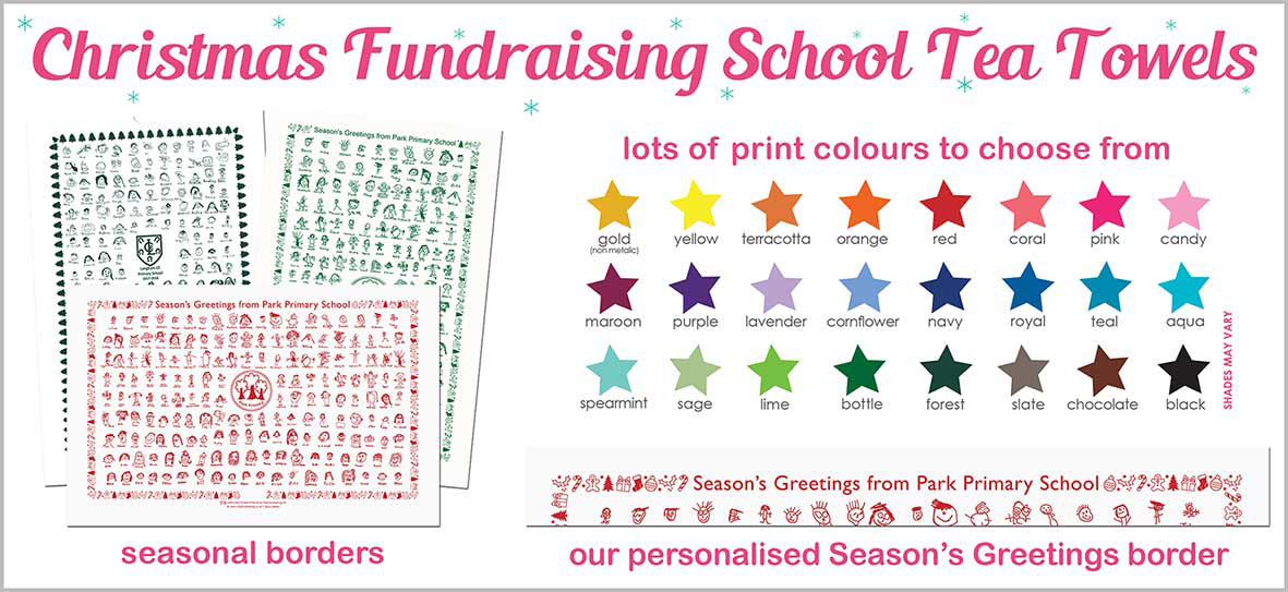 Fundraising School Tea Towels