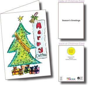 Christmas Fundraisers For Schools.School Christmas Cards Class Fundraising