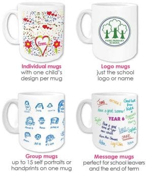 fundraising school mugs