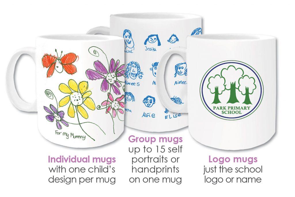 logo mugs, class mugs