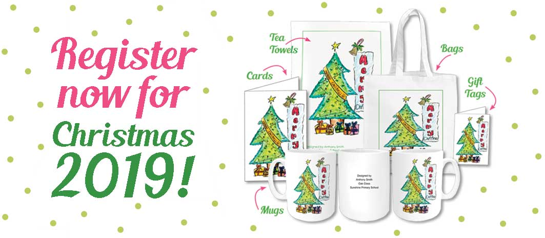 School Christmas Cards Class Fundraising