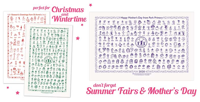 School Tea Towels - Class Fundraising - Perfect School