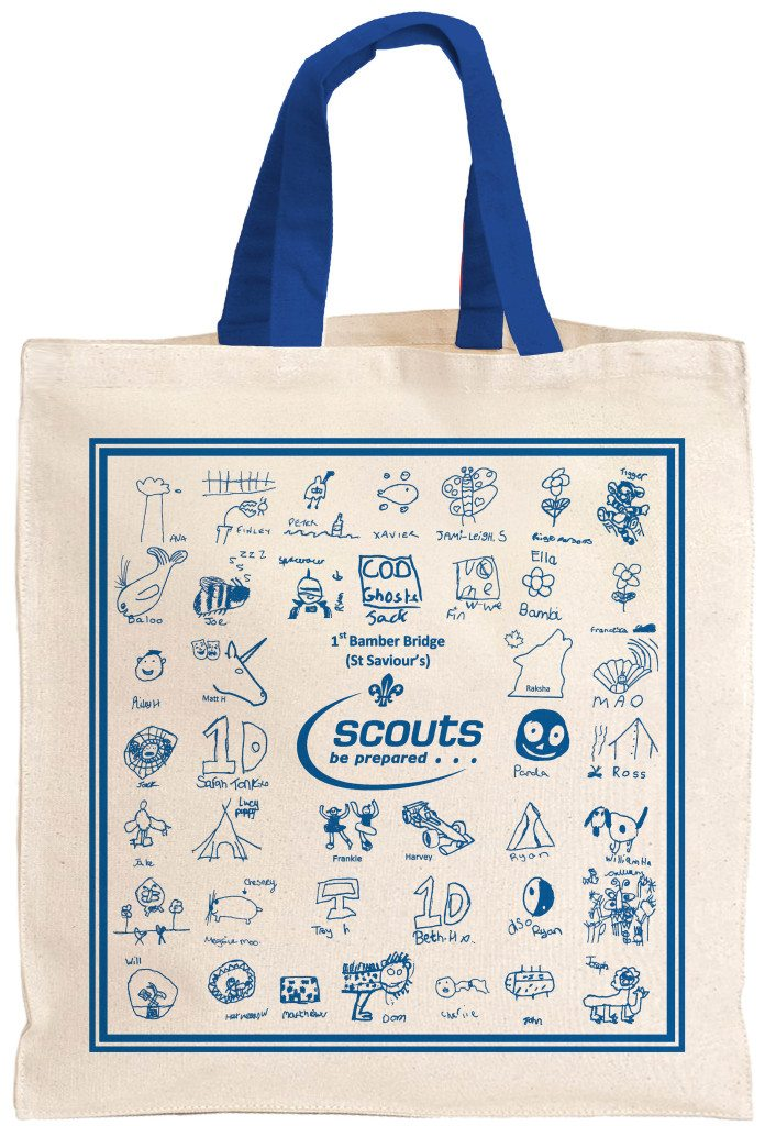 fundraising scout bags