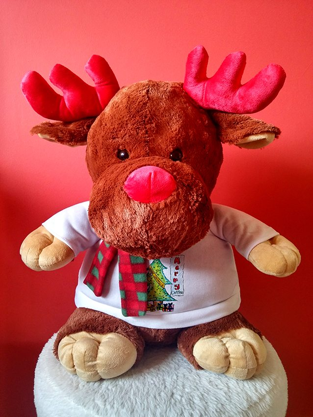 Giant Rudolph Reindeer