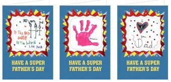 Mothers & Fathers Day Coaster Cards