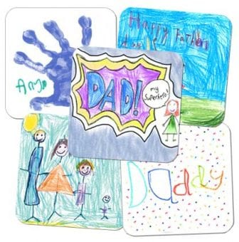 fundraising father's day coasters