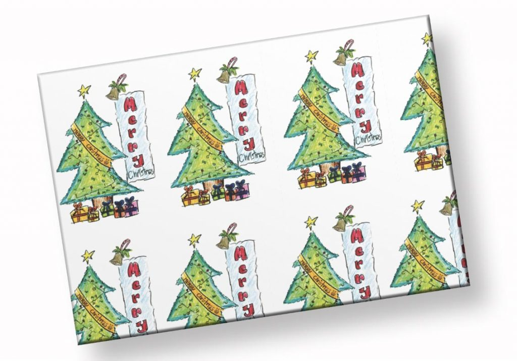 New product - wrapping paper